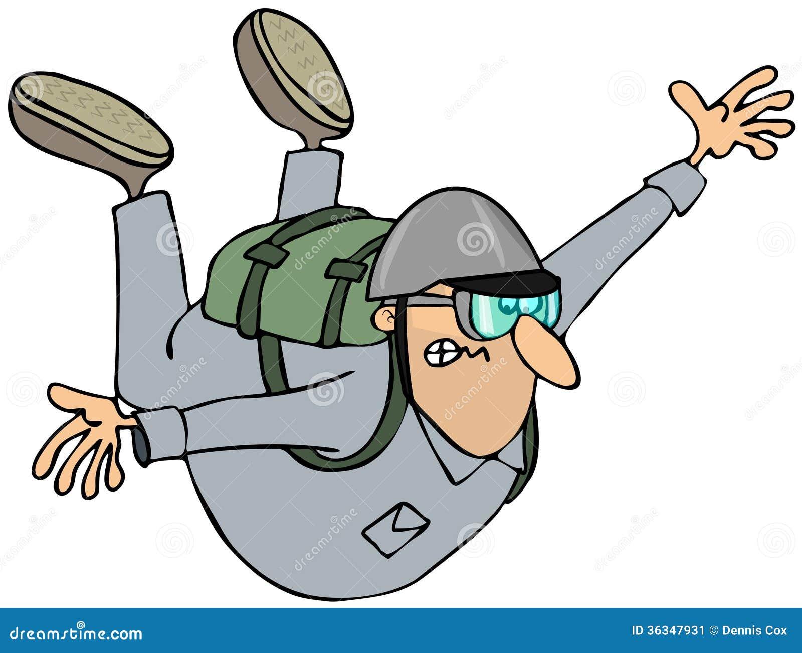 cartoon clipart parachute - photo #44