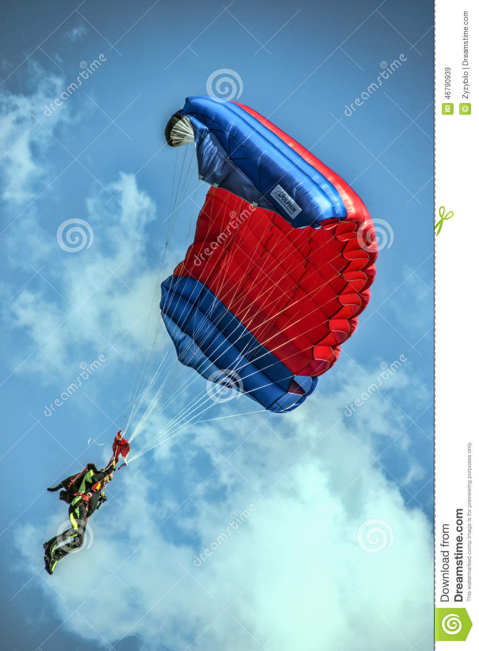 Skydiver editorial stock image  Image of skill, people - 46790939
