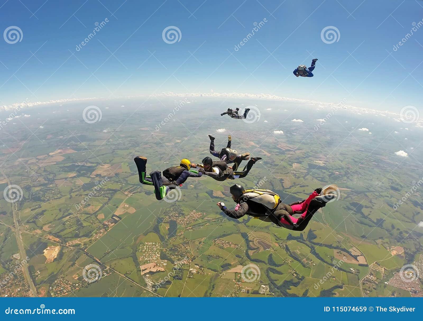 Skydiving小组形成