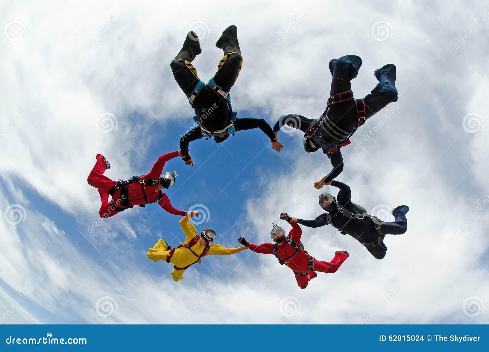 Skydiving形成