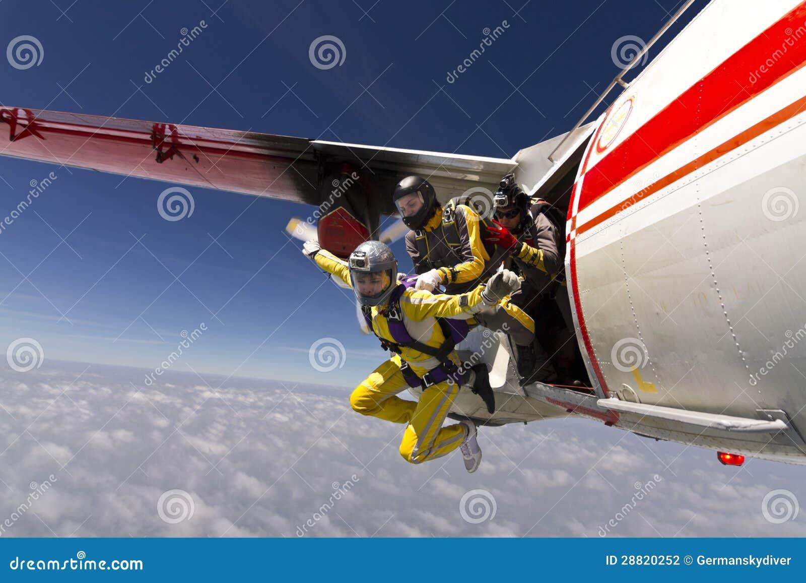 Skydiving Foto.