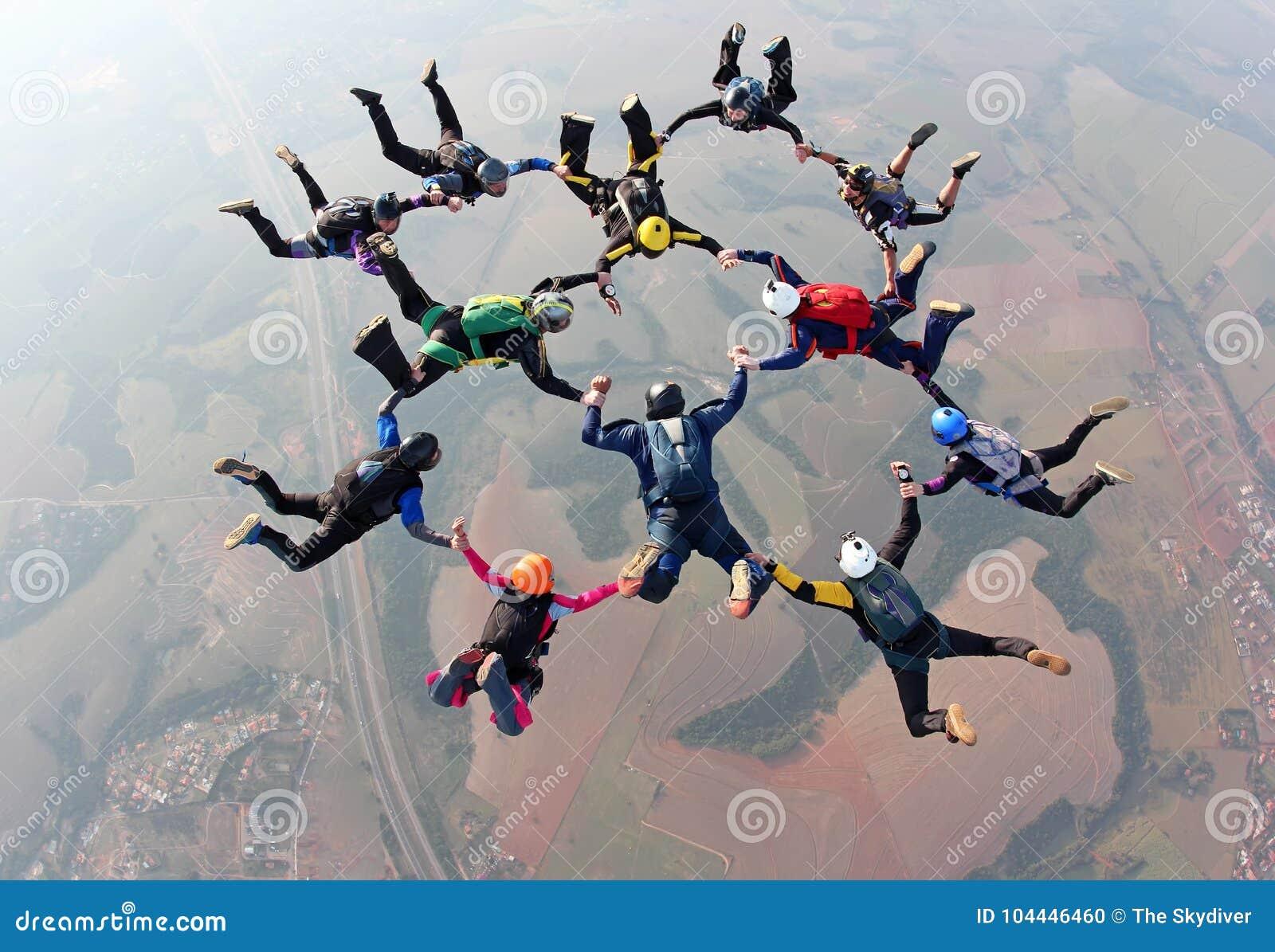 Skydiving osiągnięcie