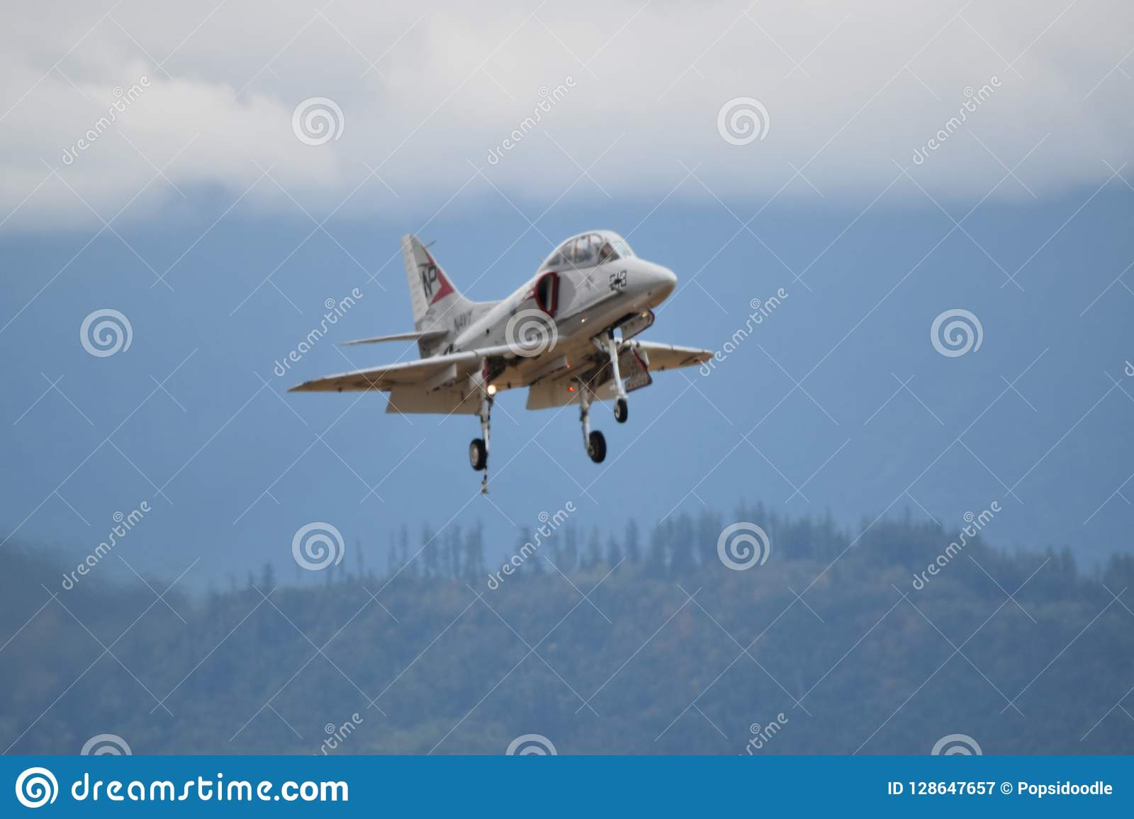 A4 Skyhawk Fighter Jet editorial photography  Image of