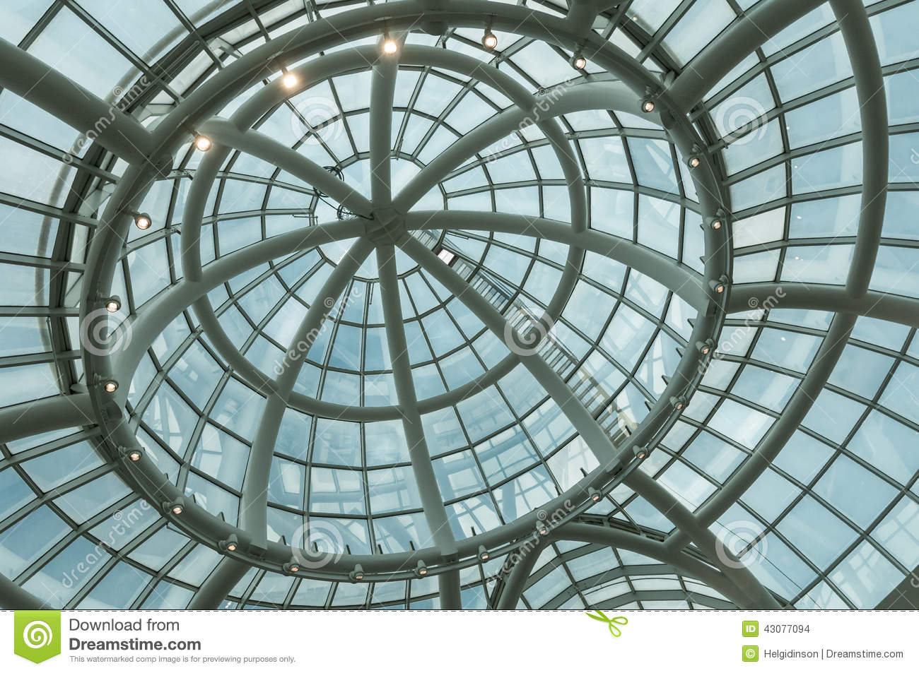 Skylight Dome Stock Photo Image Of Architecture