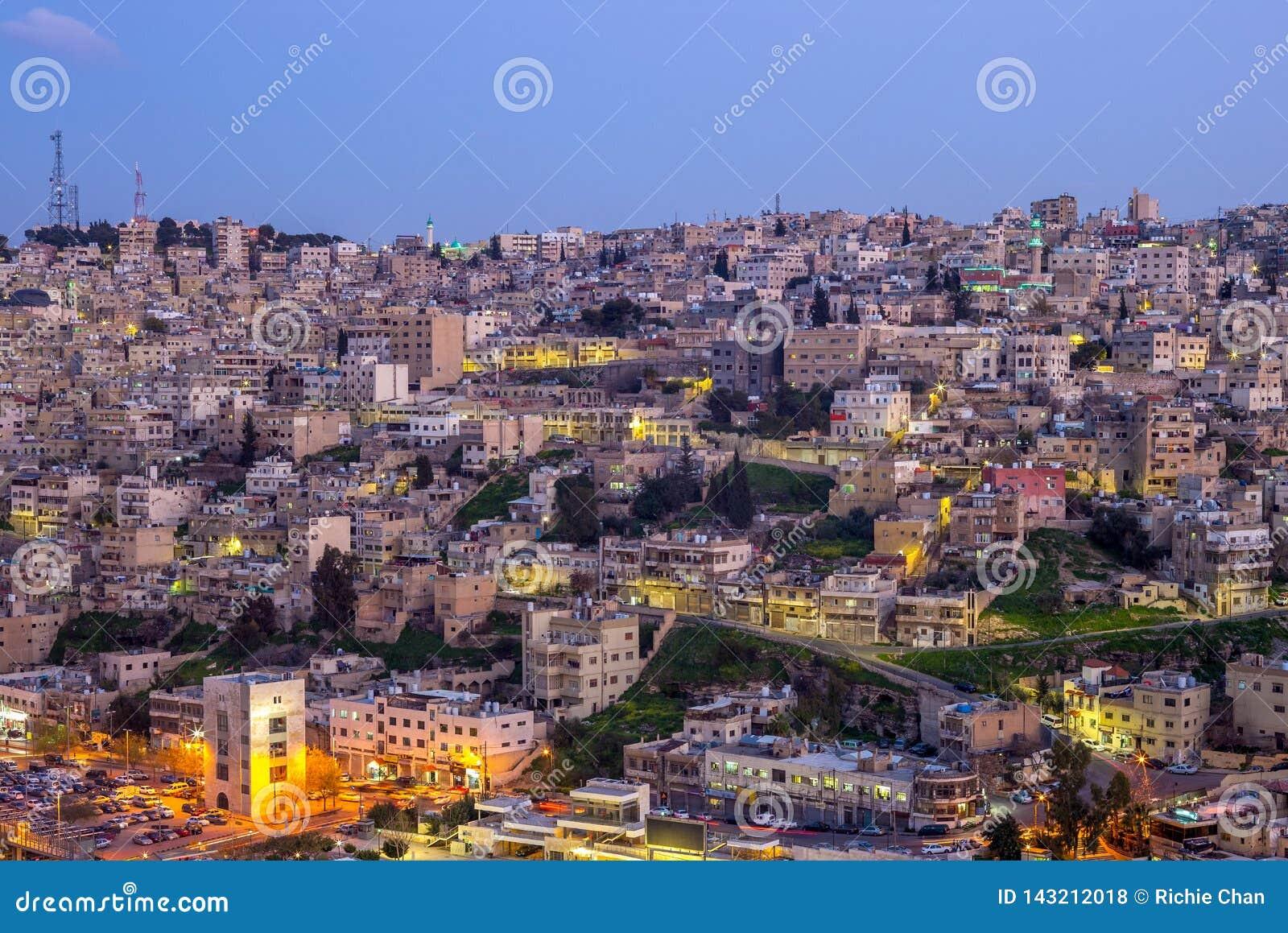 capital of jordan country
