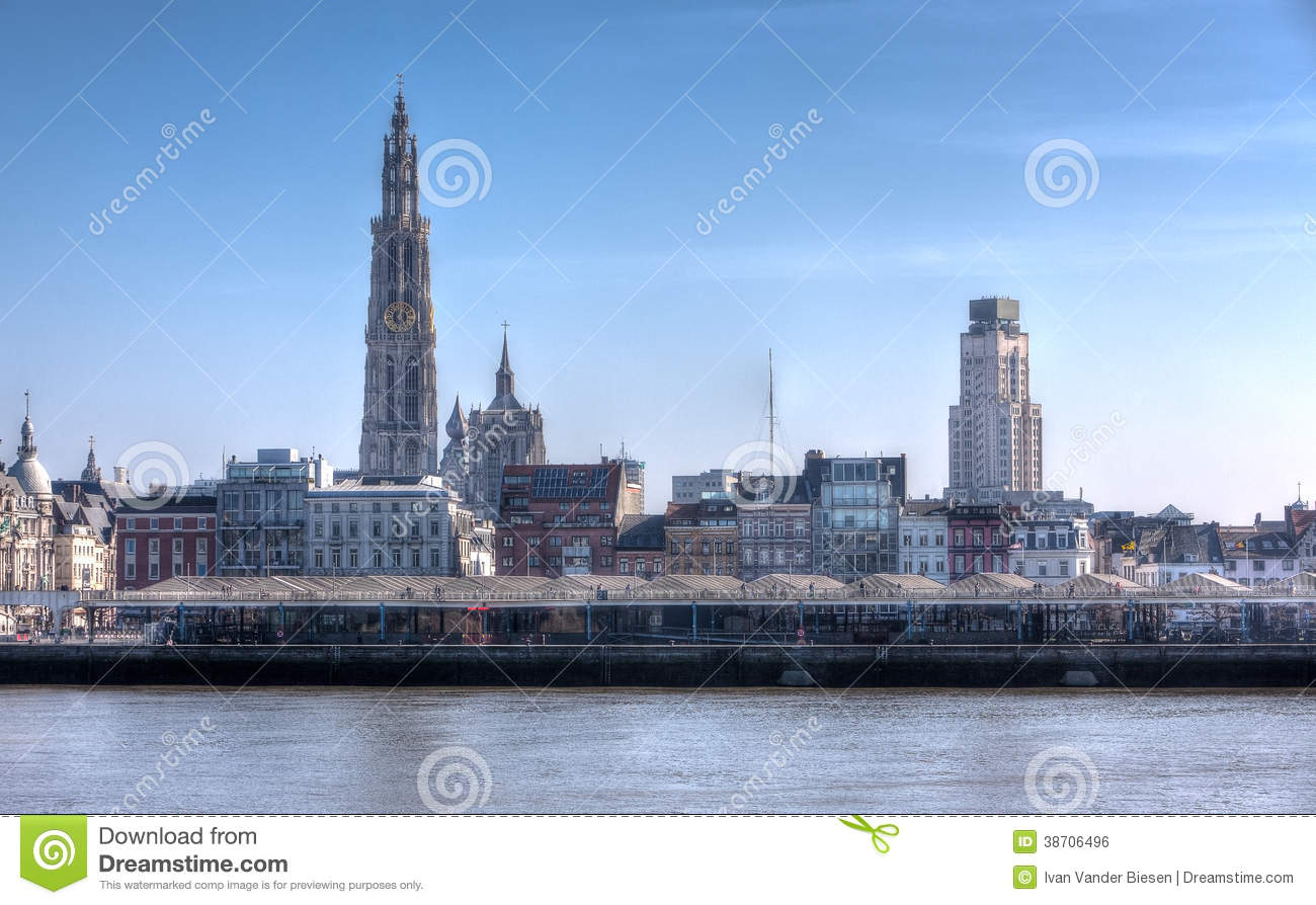 662 Skyline Antwerp Photos Free Royalty Free Stock Photos From Dreamstime