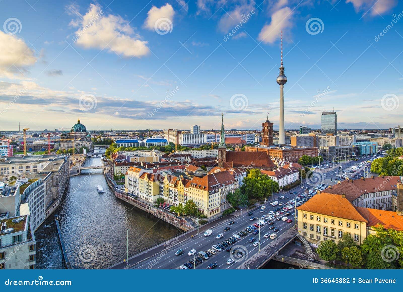 Skyline Berlins, Deutschland