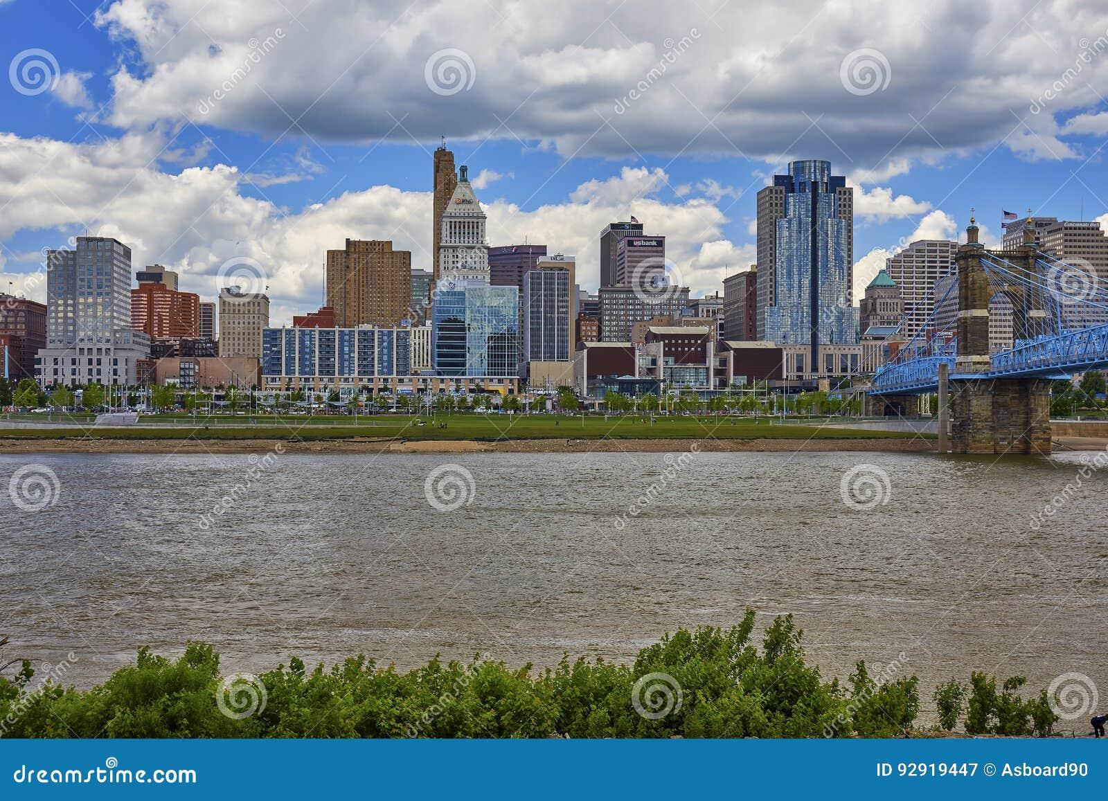 Skyline Cincinnati-, Ohio