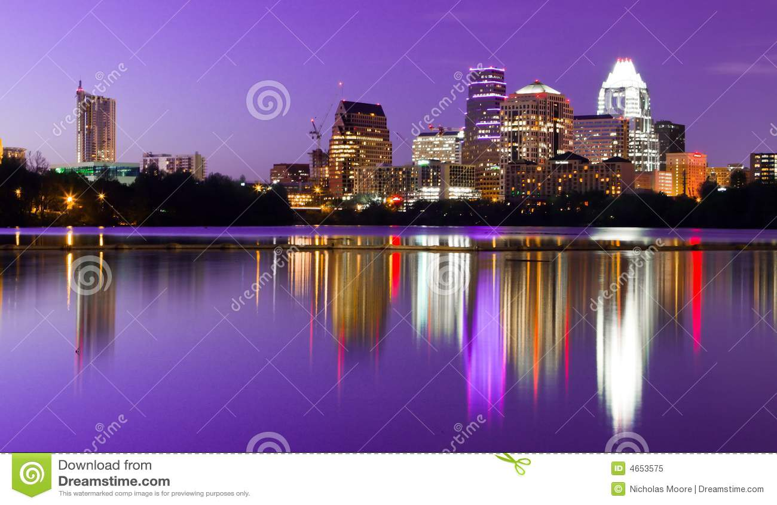 Skyline da cidade - Austin, TX