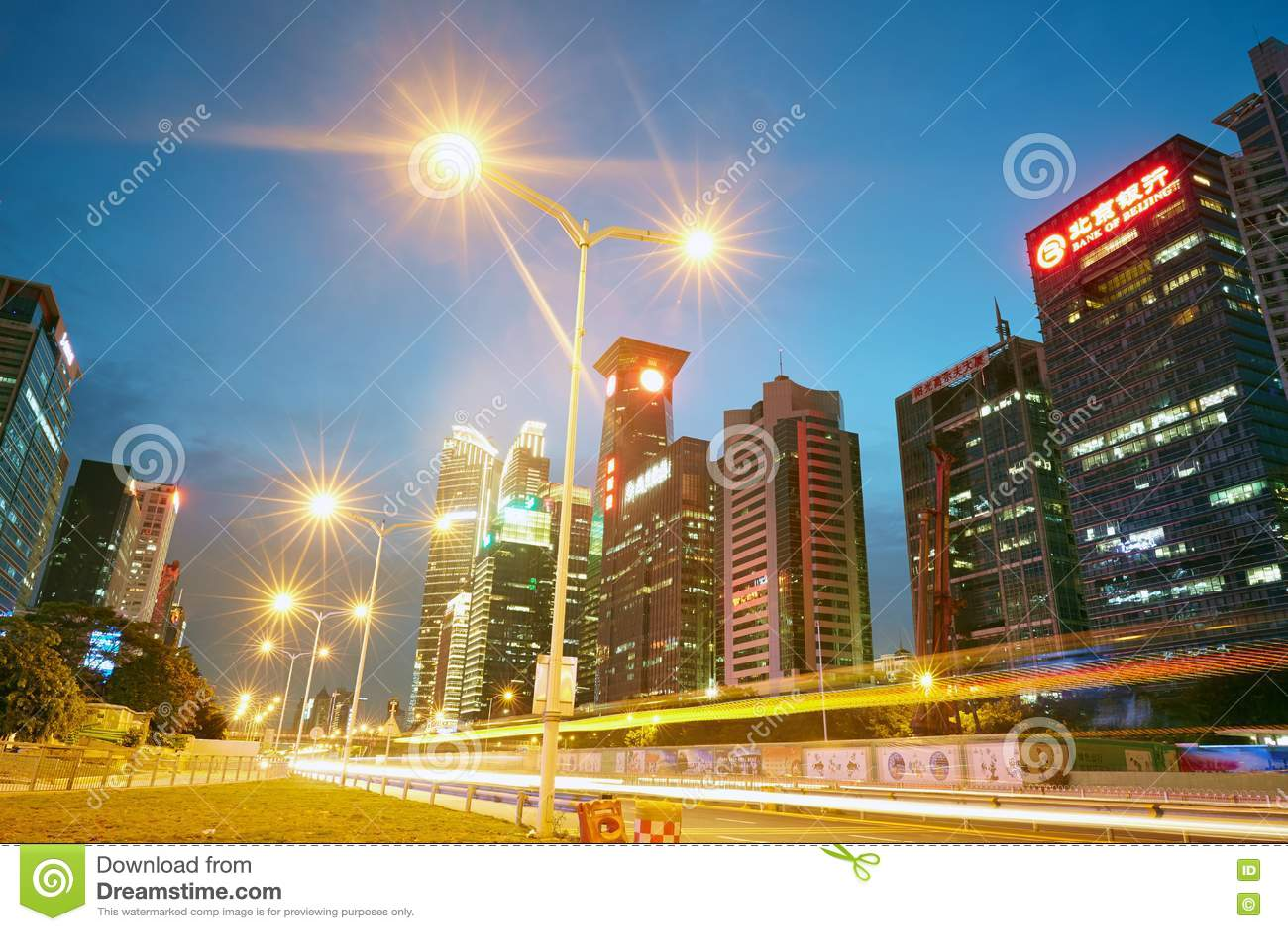 Skyline da cidade de Shenzhen
