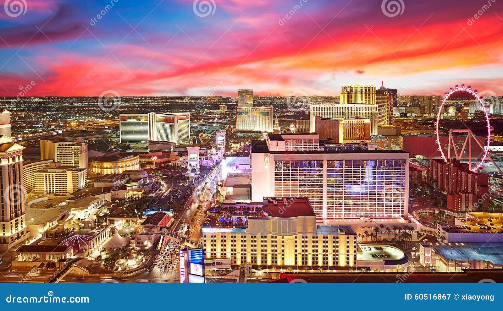 Skyline da cidade, Las Vegas