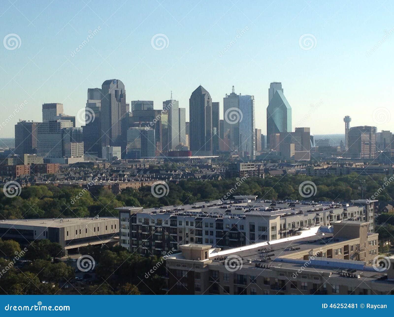 Apartments condo dallas downtown landscape north skyline texas  Skyline Of Dallas  Texas Uptown View Editorial Photo   Image  46252481. Apartments In Downtown Dallas Texas. Home Design Ideas