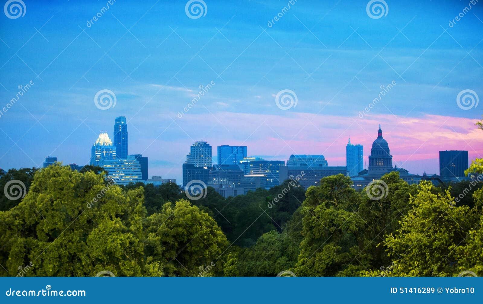 Skyline de Austin, Texas