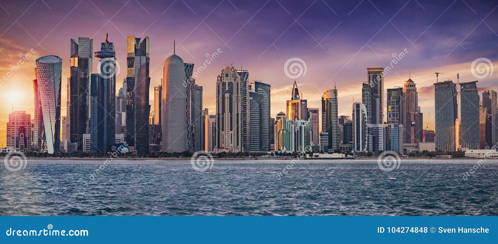 A skyline de Doha