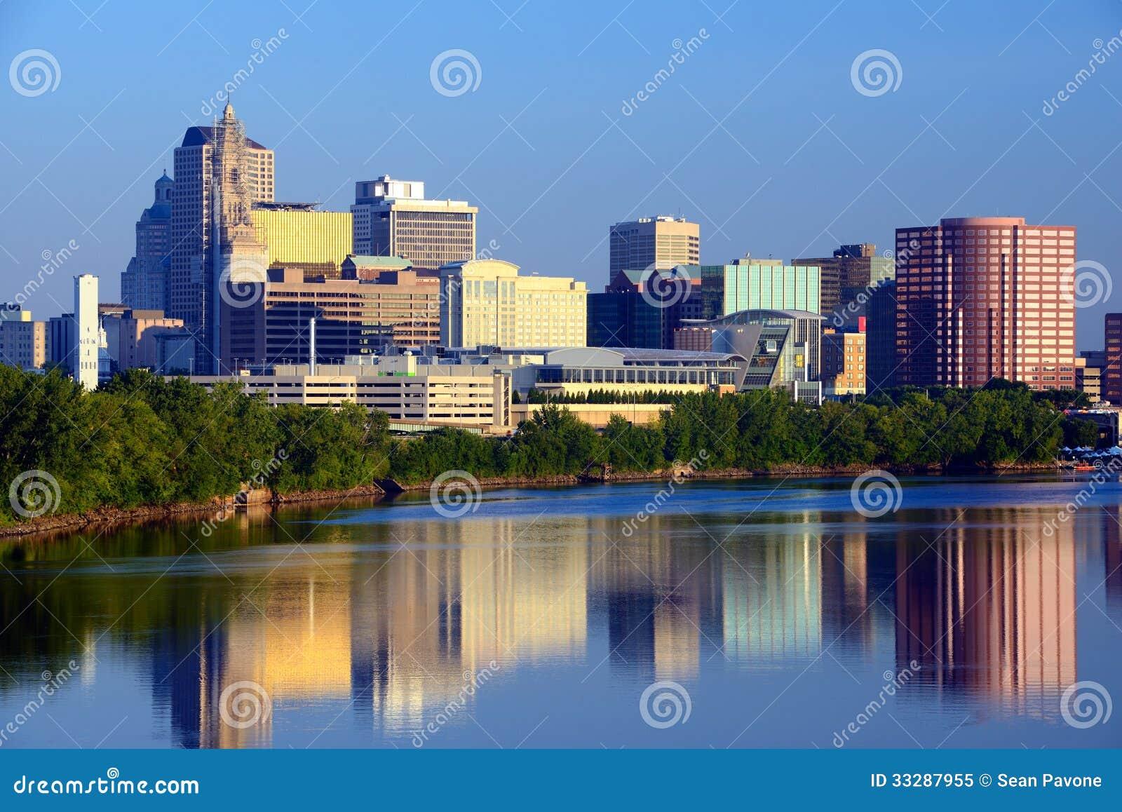 Skyline de Hartford, Connecticut