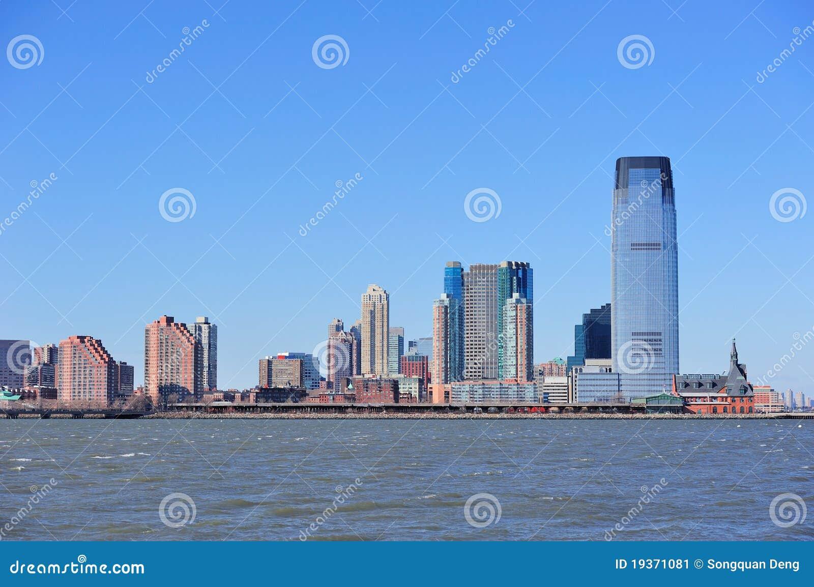 Skyline de New-jersey Hoboken