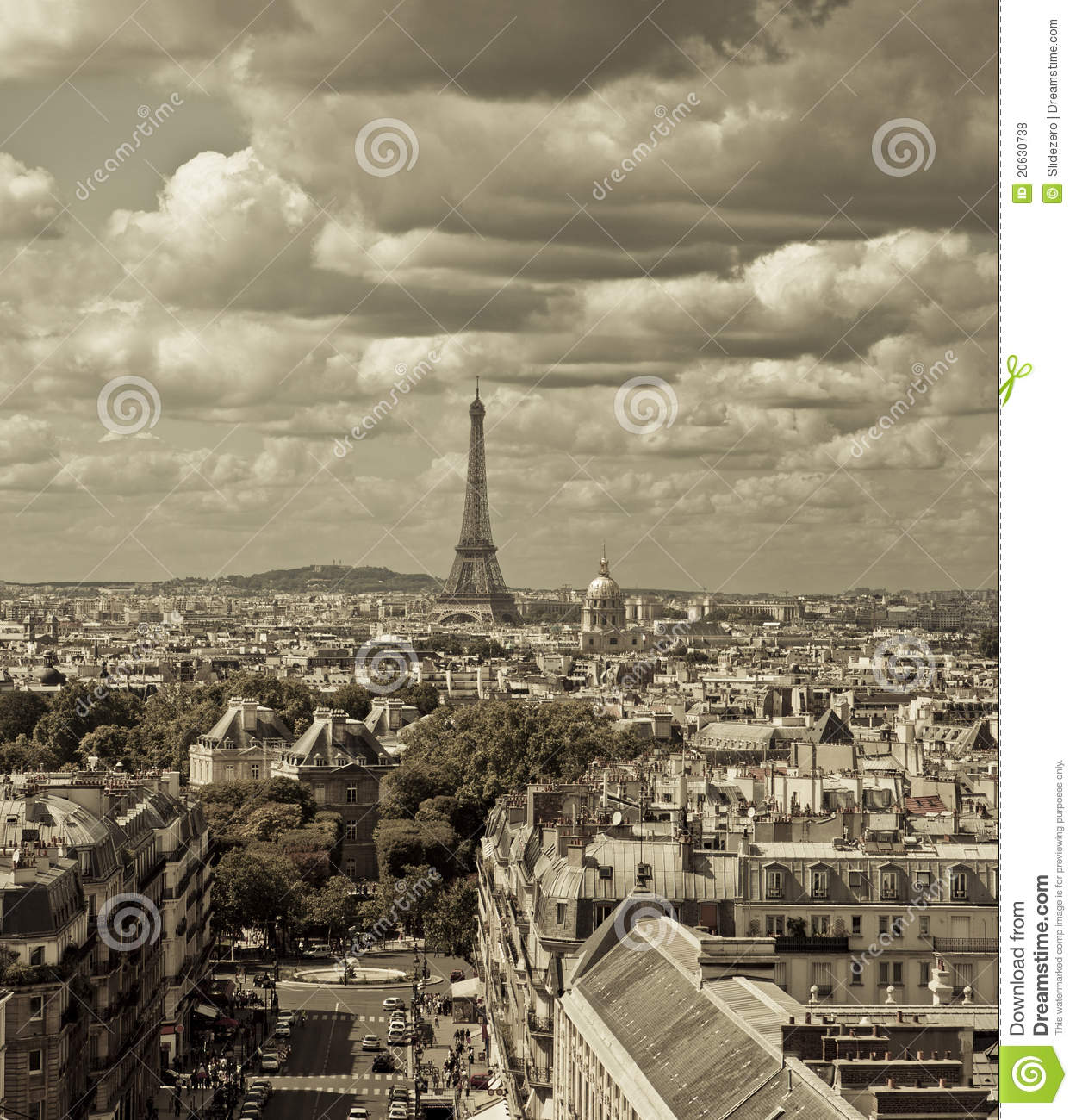 Skyline de Paris