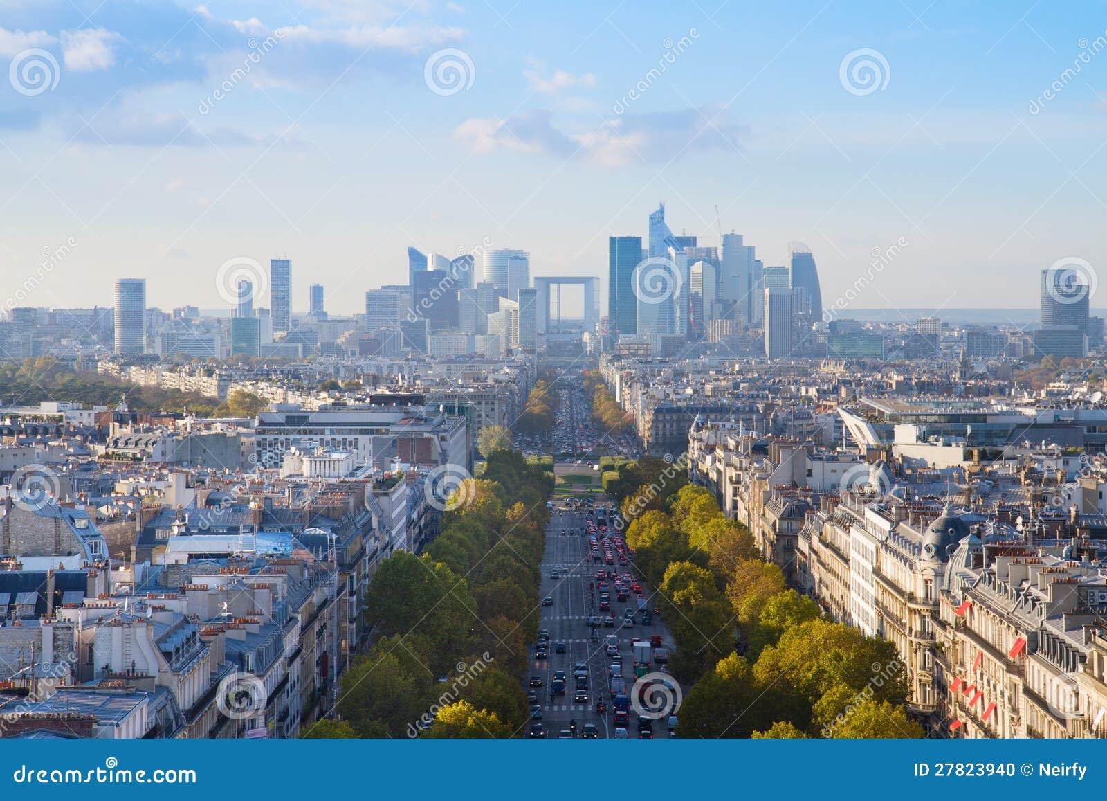 Skyline de Paris, France