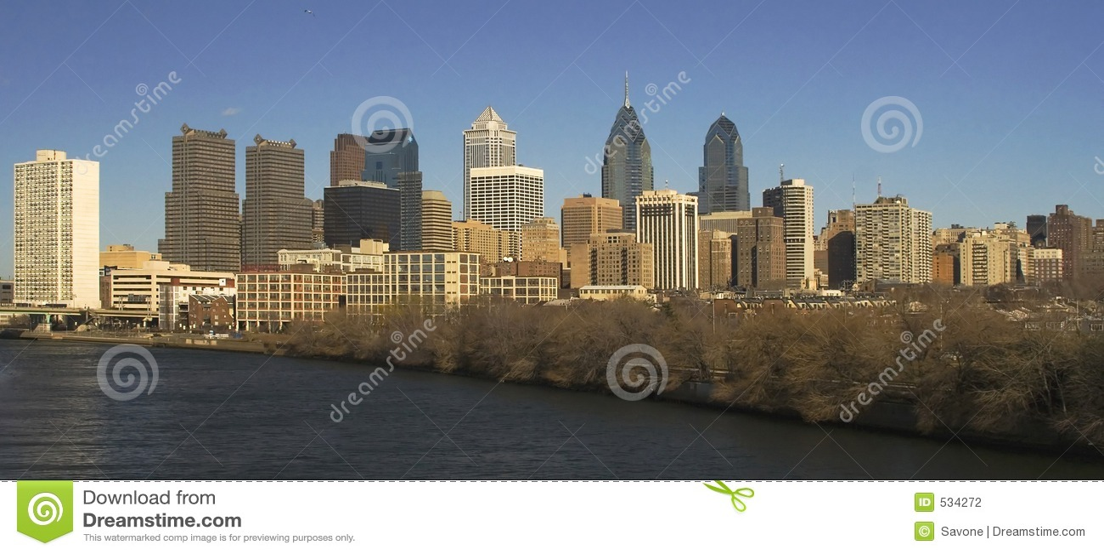 Skyline de Philadelphfia