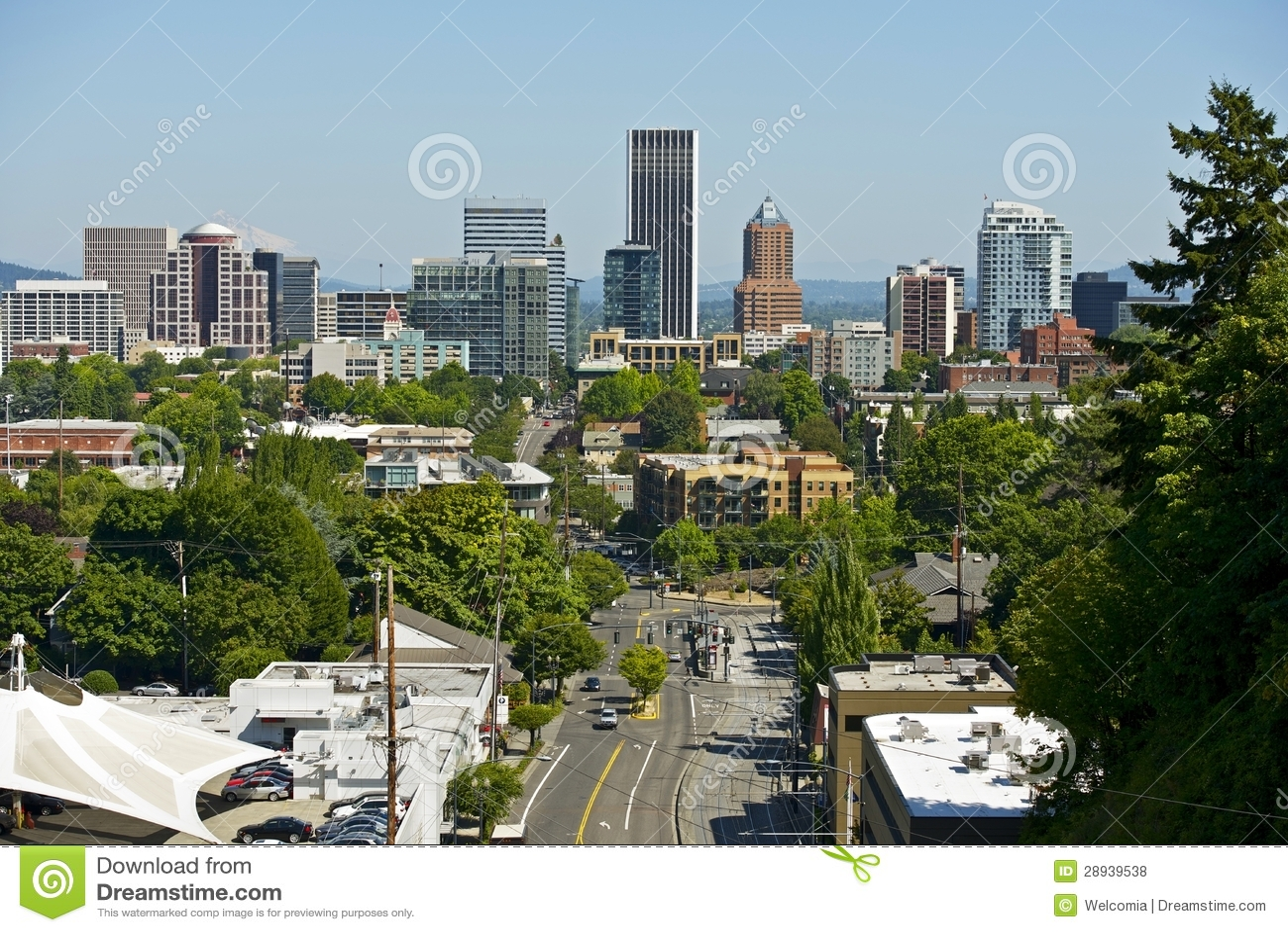 Skyline de Portland