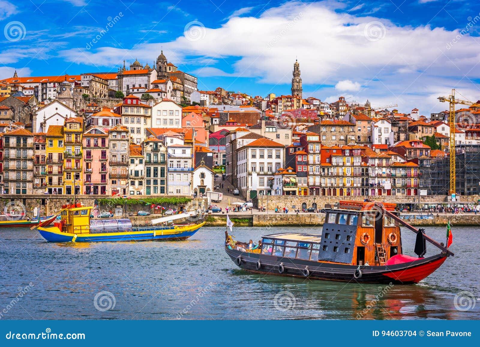 Skyline de Porto, Portugal