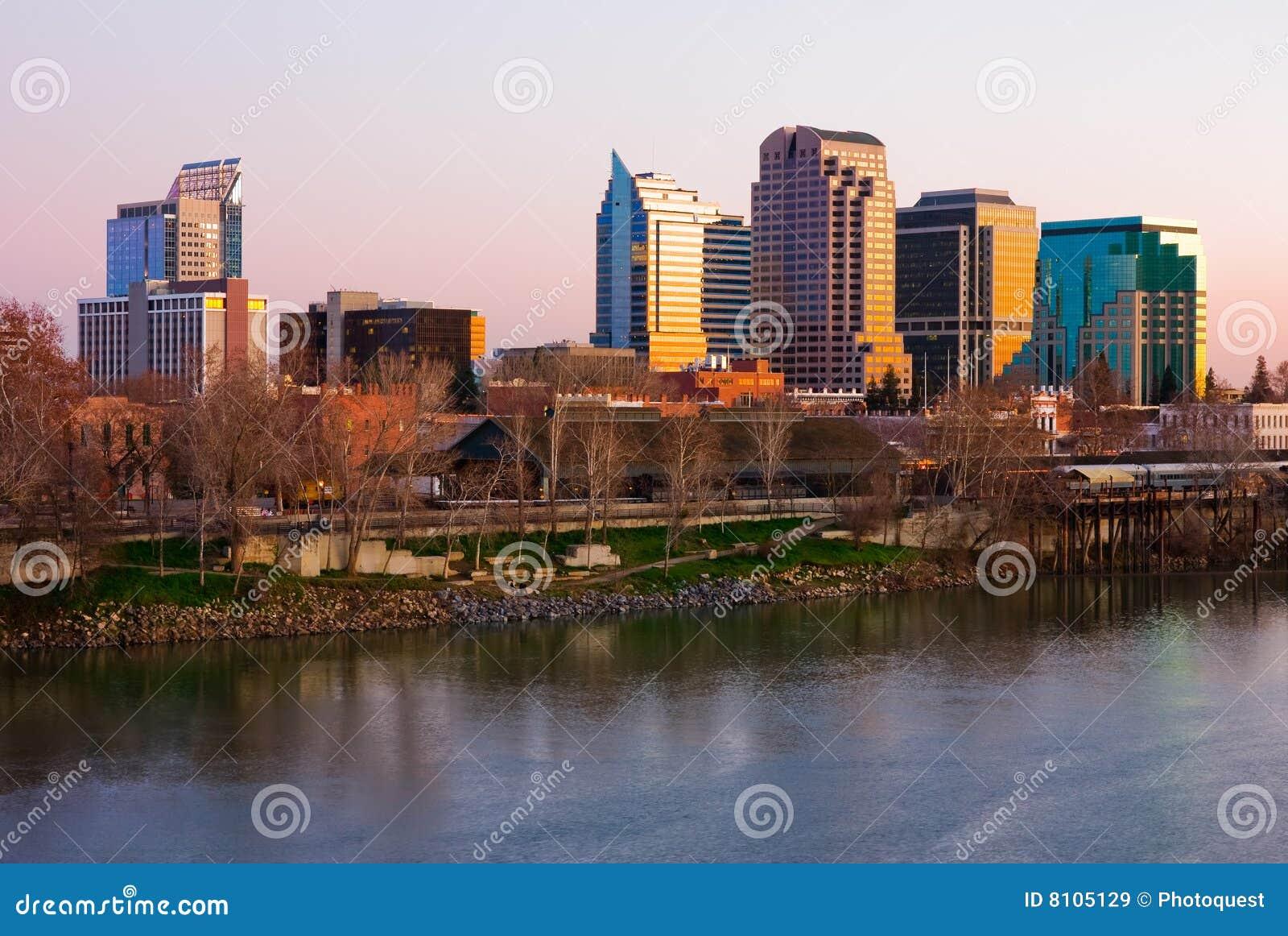 Skyline de Sacramento