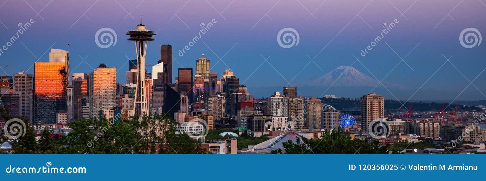 Skyline de Seattle