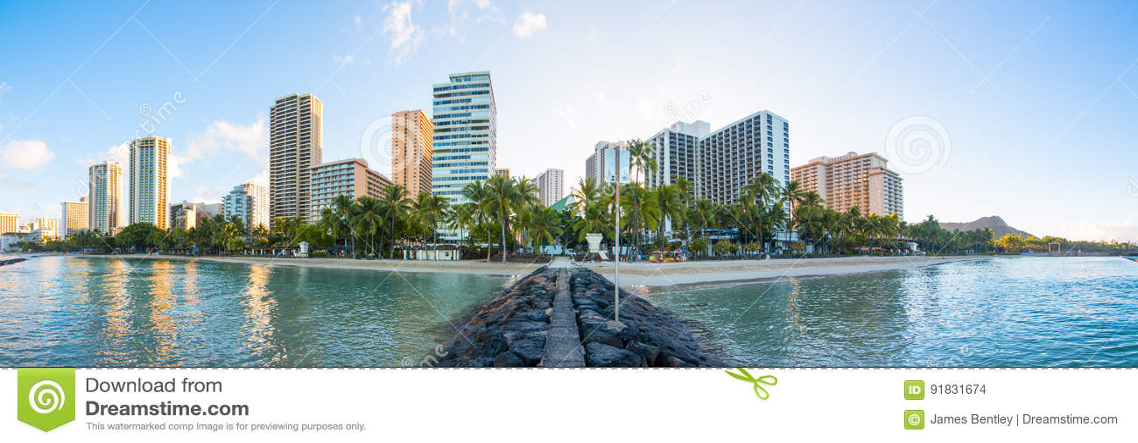 Skyline de Waikiki