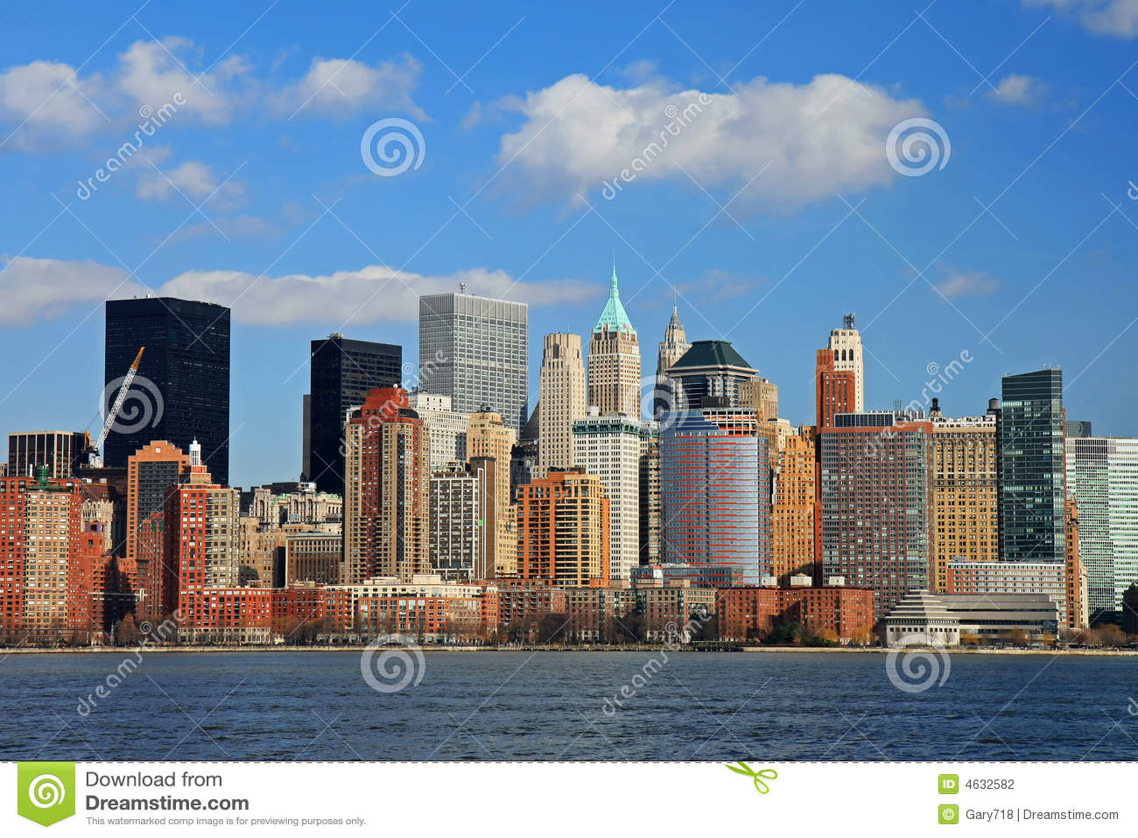 A skyline do Lower Manhattan