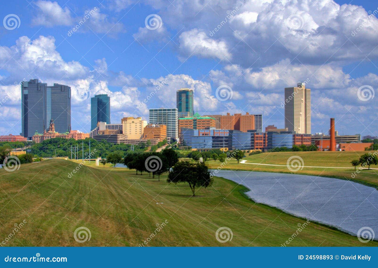 Skyline of Fort Worth Texas