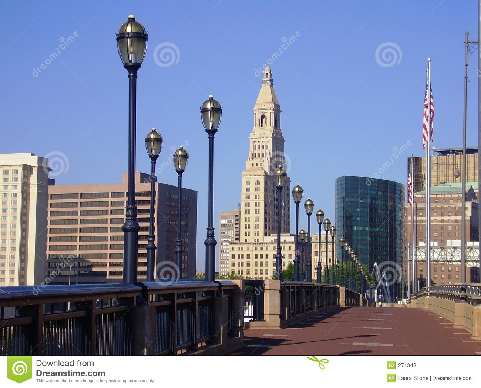 Skyline, Hartford Connecticut