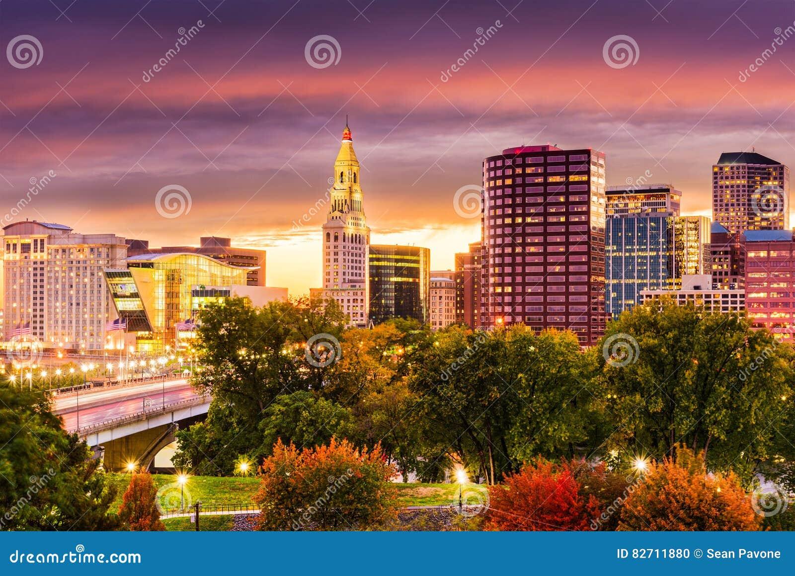 Skyline Hartford-Connecticut