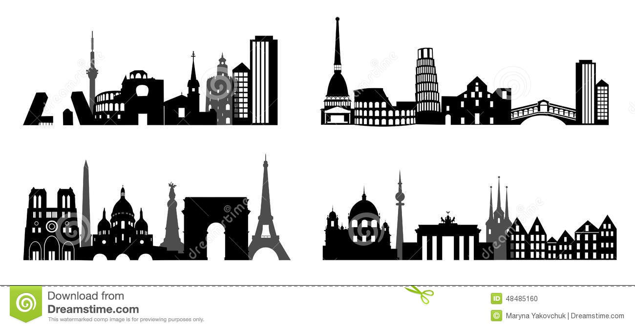 Italy Skyline Stock Photos, Royalty-Free Images & Vectors ...