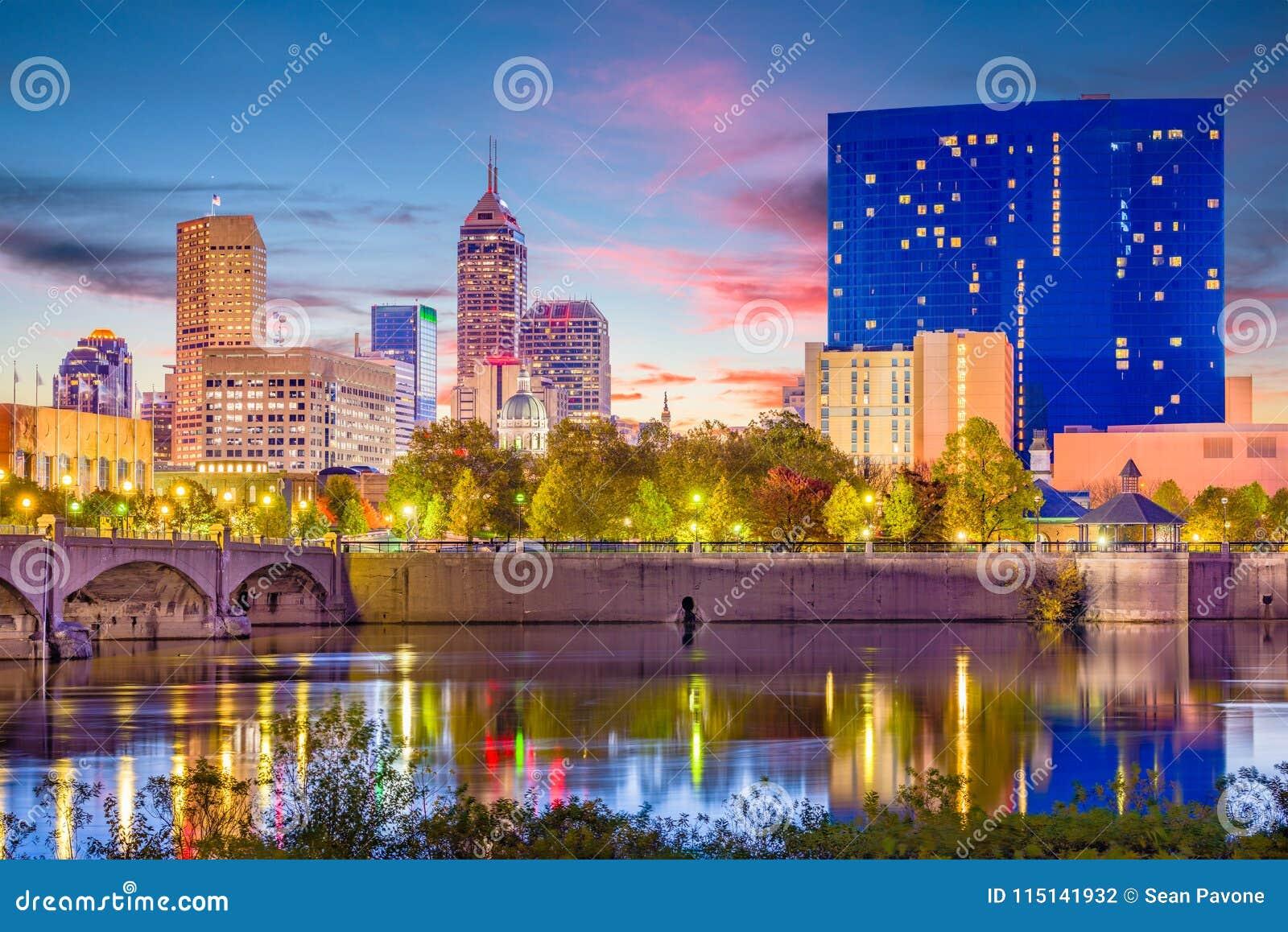 Skyline Indianapolis, Indiana, USA