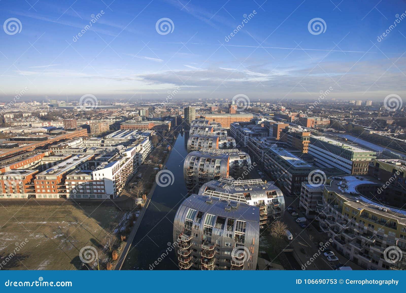 Skyline nos Países Baixos