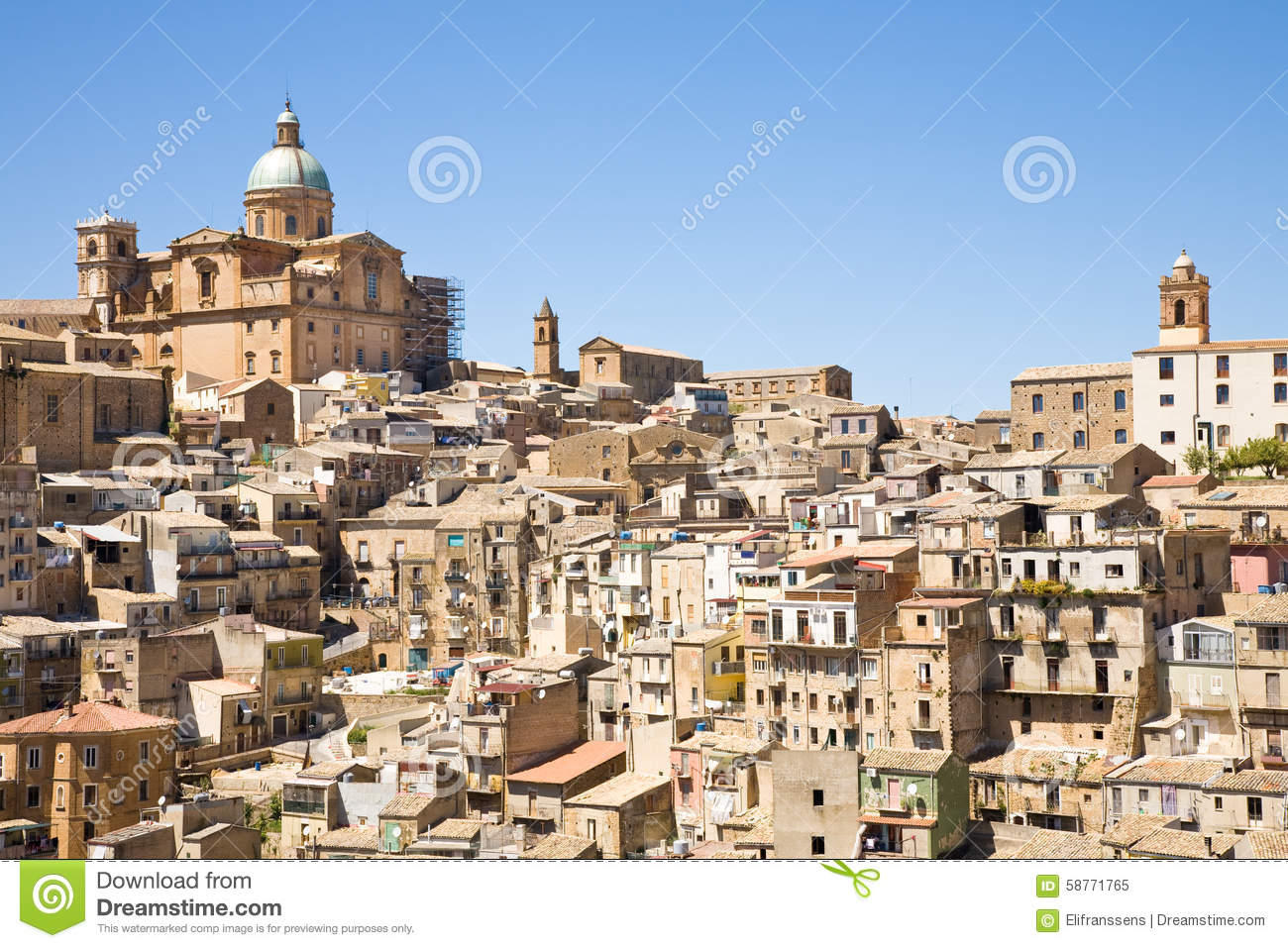 Piazza Armerina Italy  city photo : ... piazza armerina a hilltop village in the enna province of sicily italy