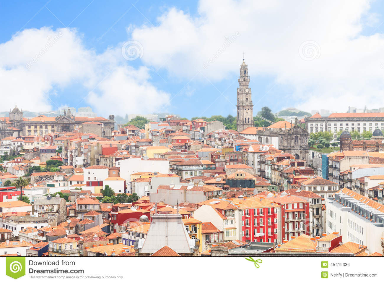 Skyline of Porto, Portugal