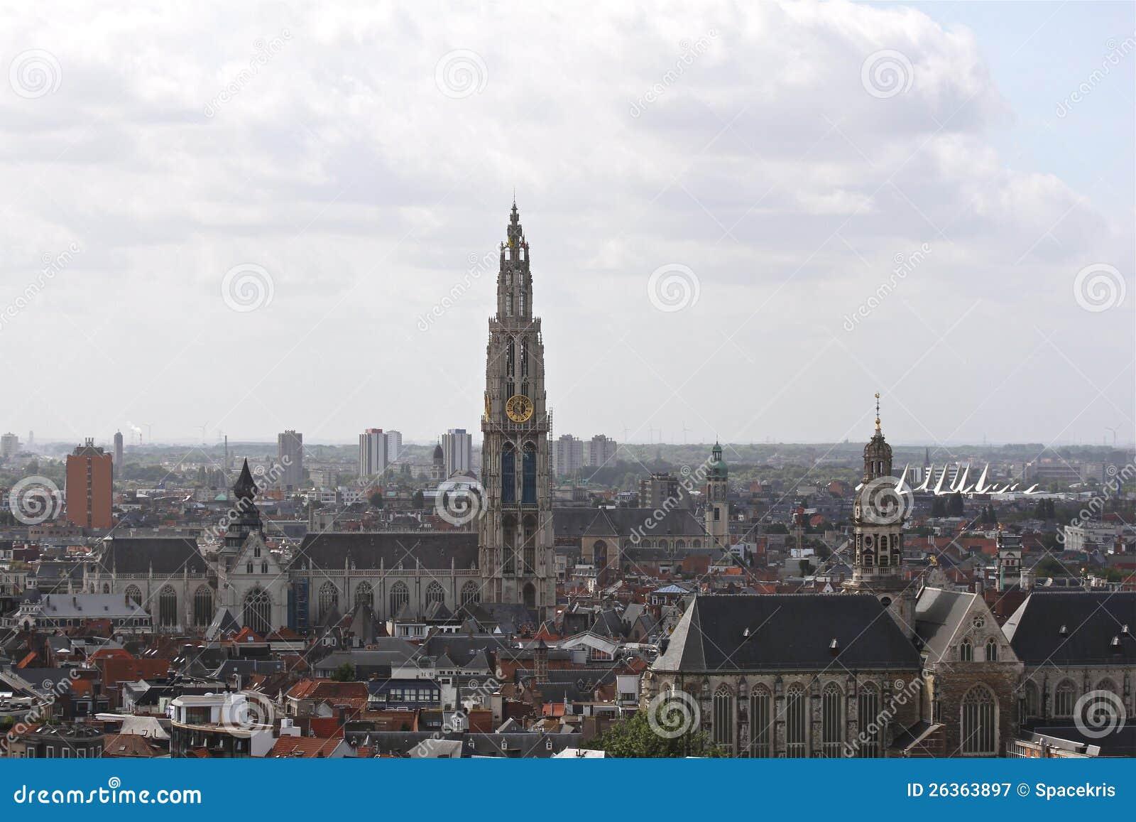 Skyline von Antwerpen