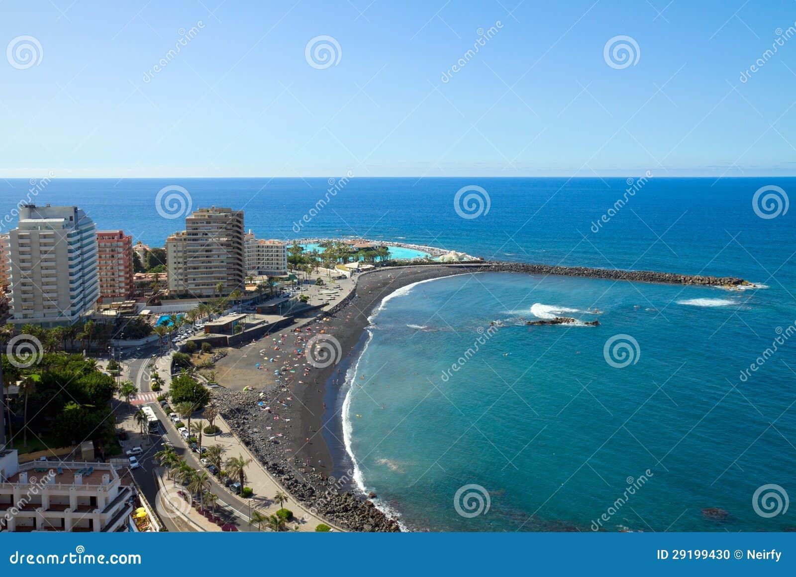 Skyline von puerto de la cruz teneriffa spanien stockfoto bild 29199430 - Puerta de la cruz ...