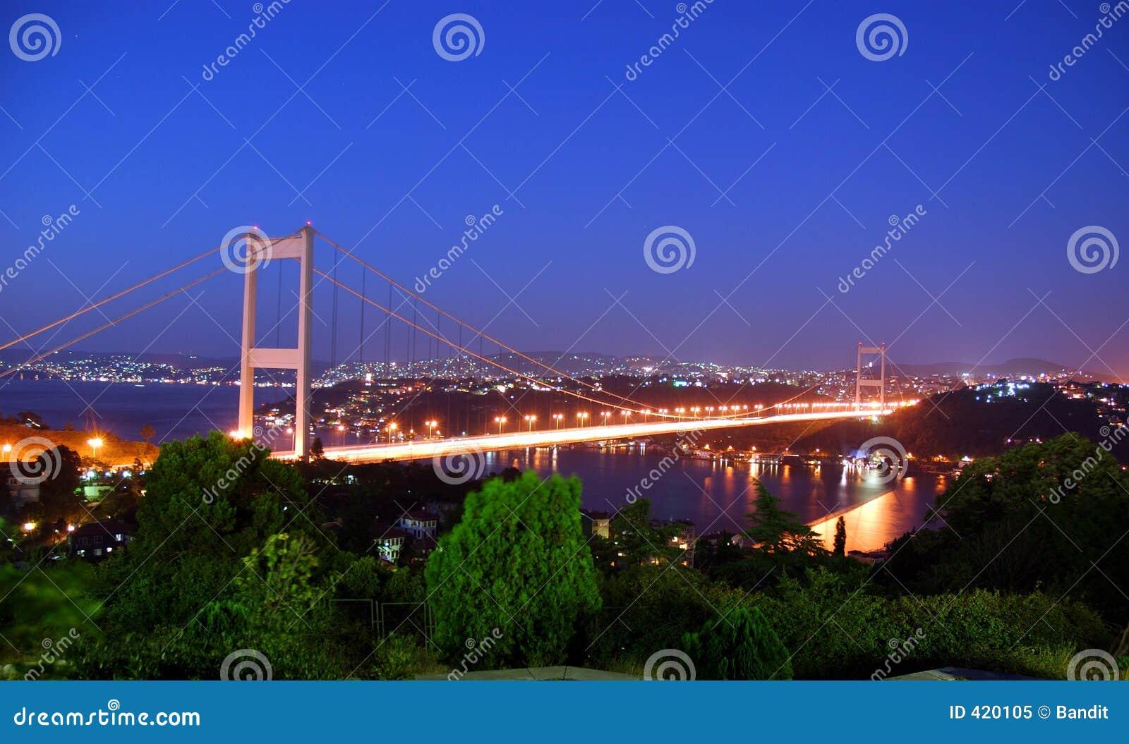 Skymning istanbul