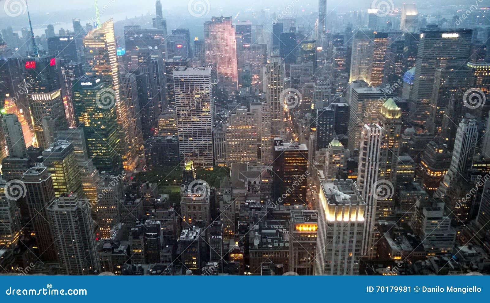 Skymning New York