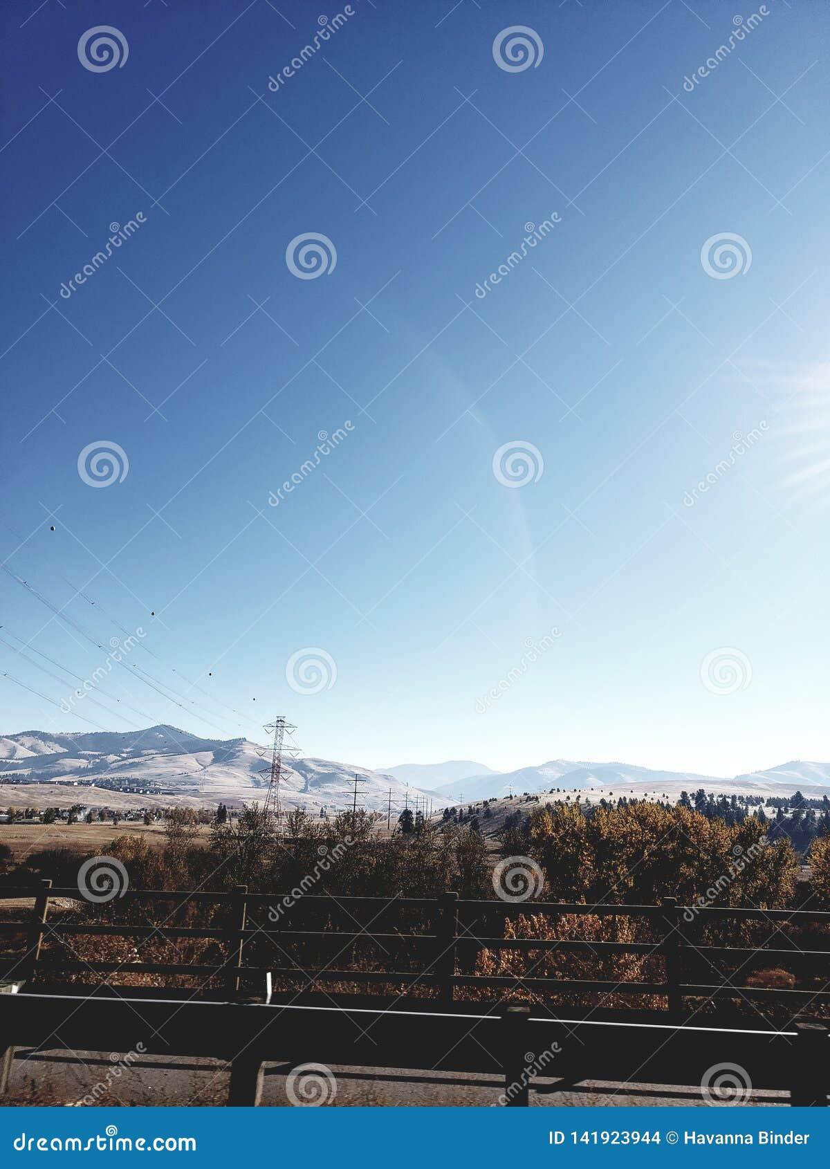 Skys de Montana