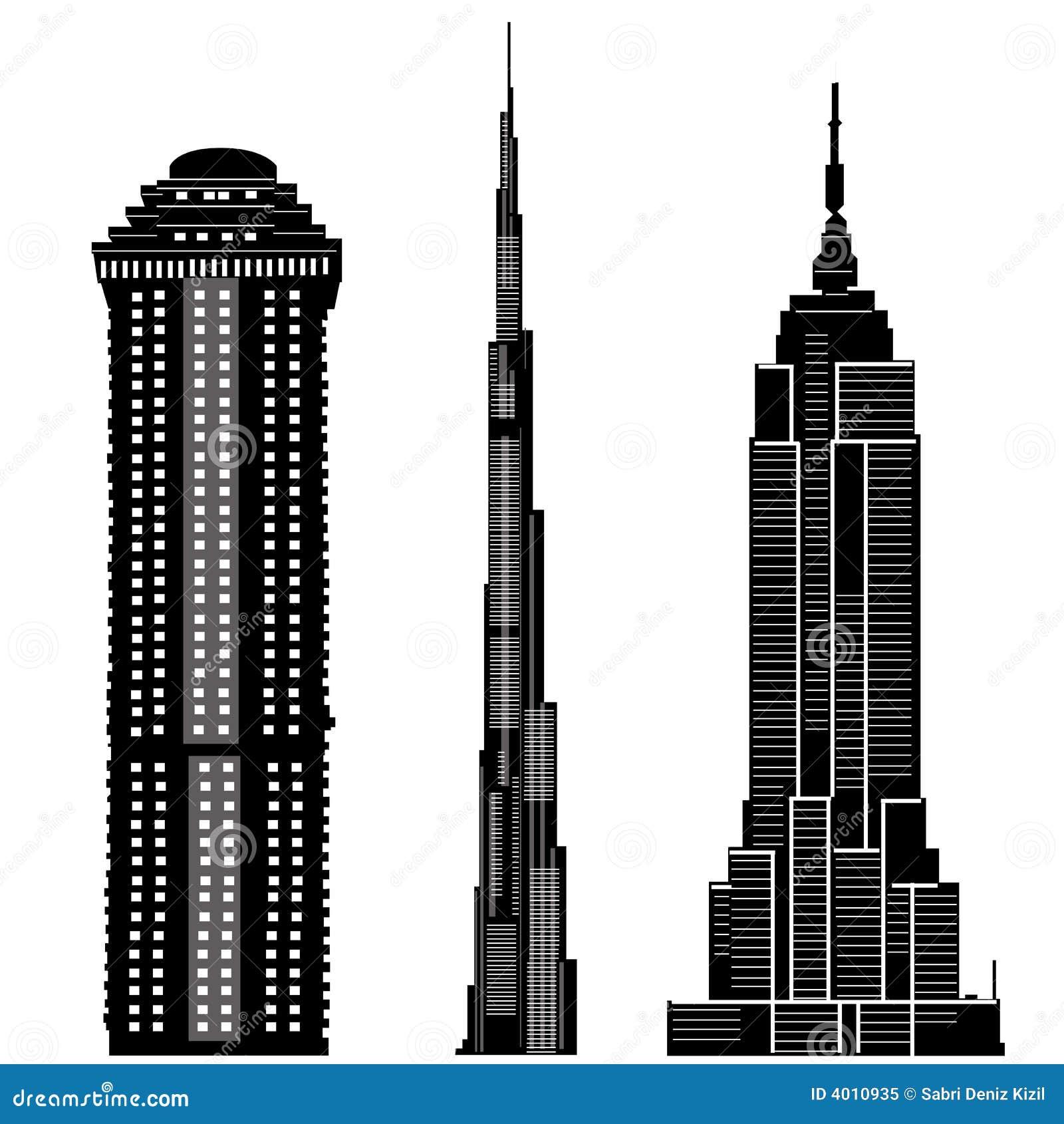 Skyscraper clip art