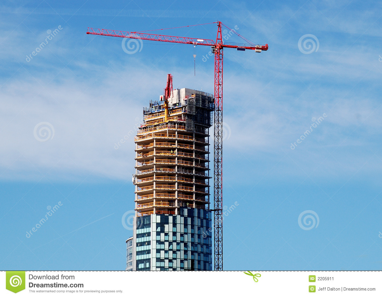 Construction Cranes are going up but would you buy a new condo?