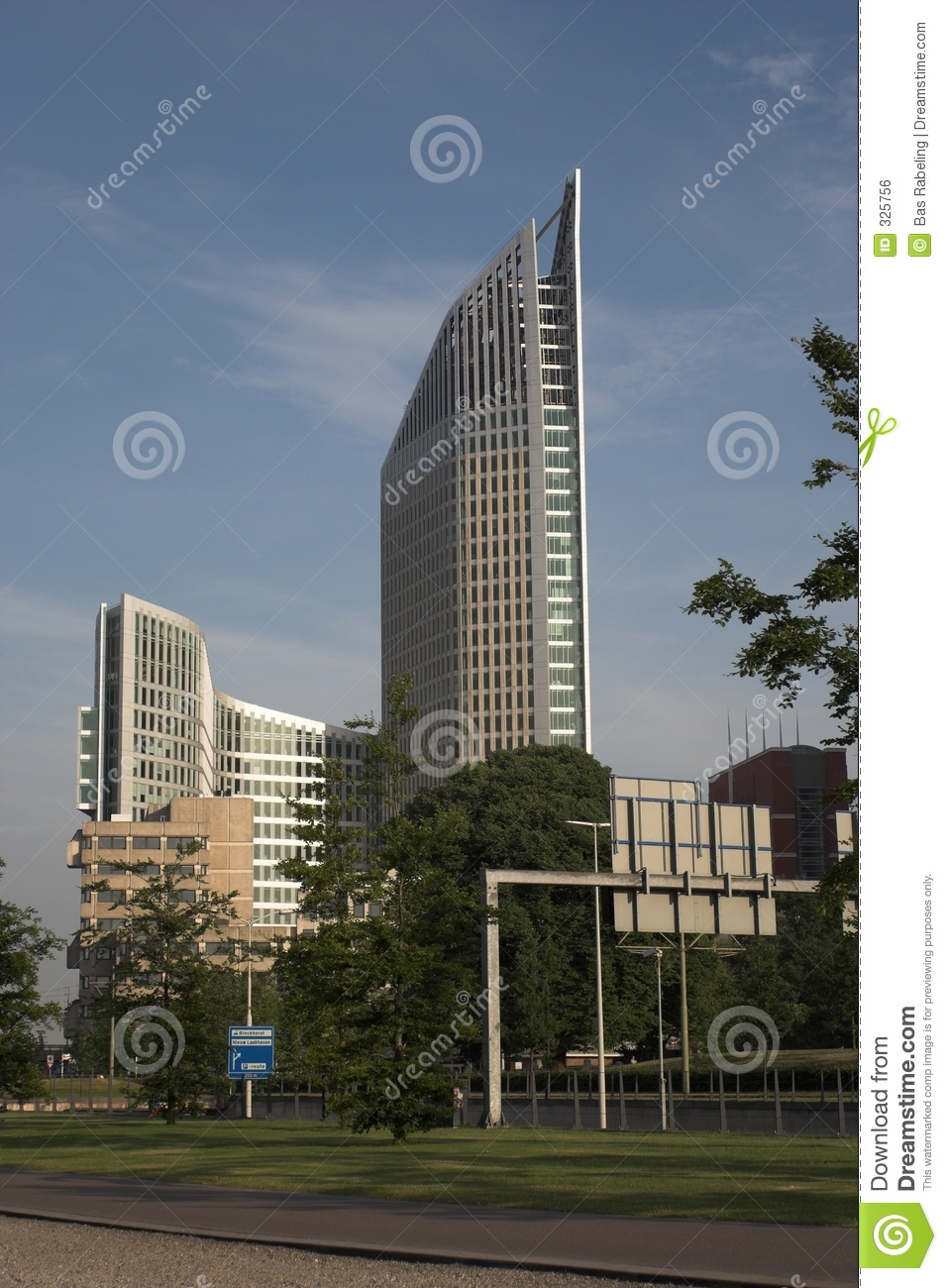 Skyscraper: the Hoftoren in the Hague