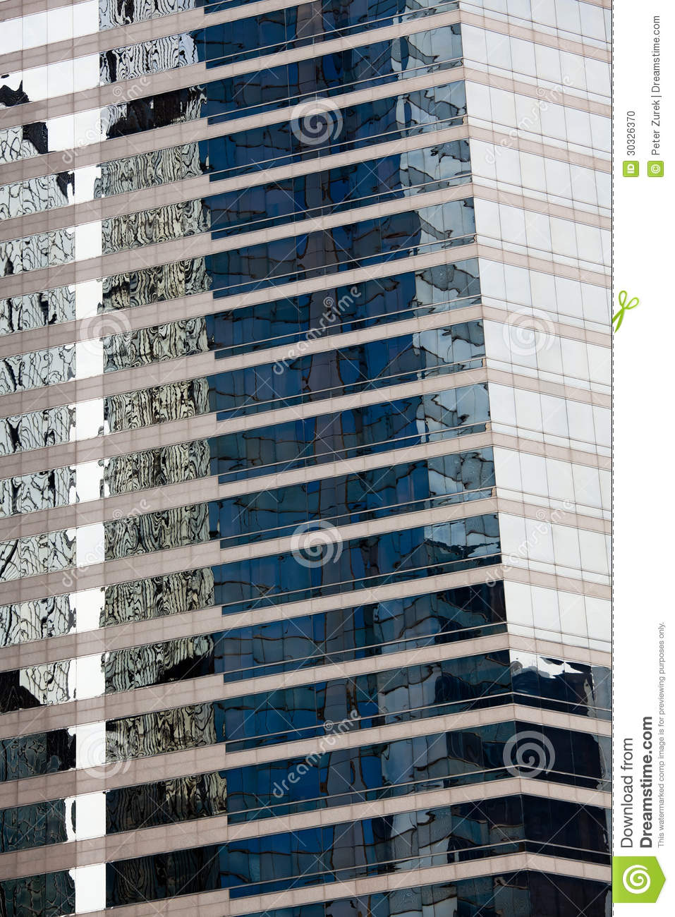 Skyscraper reflections stock photo image 30326370 for Refection facade