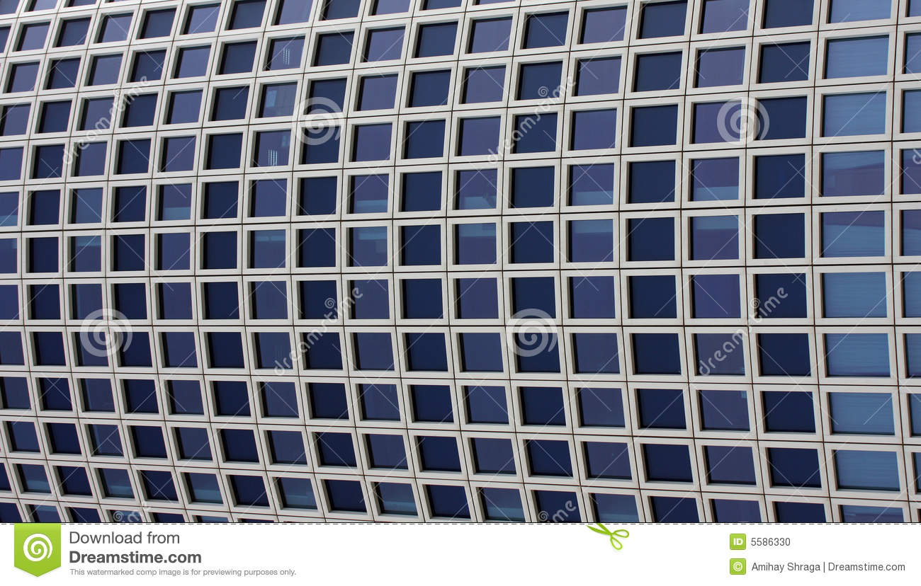 Skyscraper windows pattern stock photo image of wall for Professional window treatment patterns