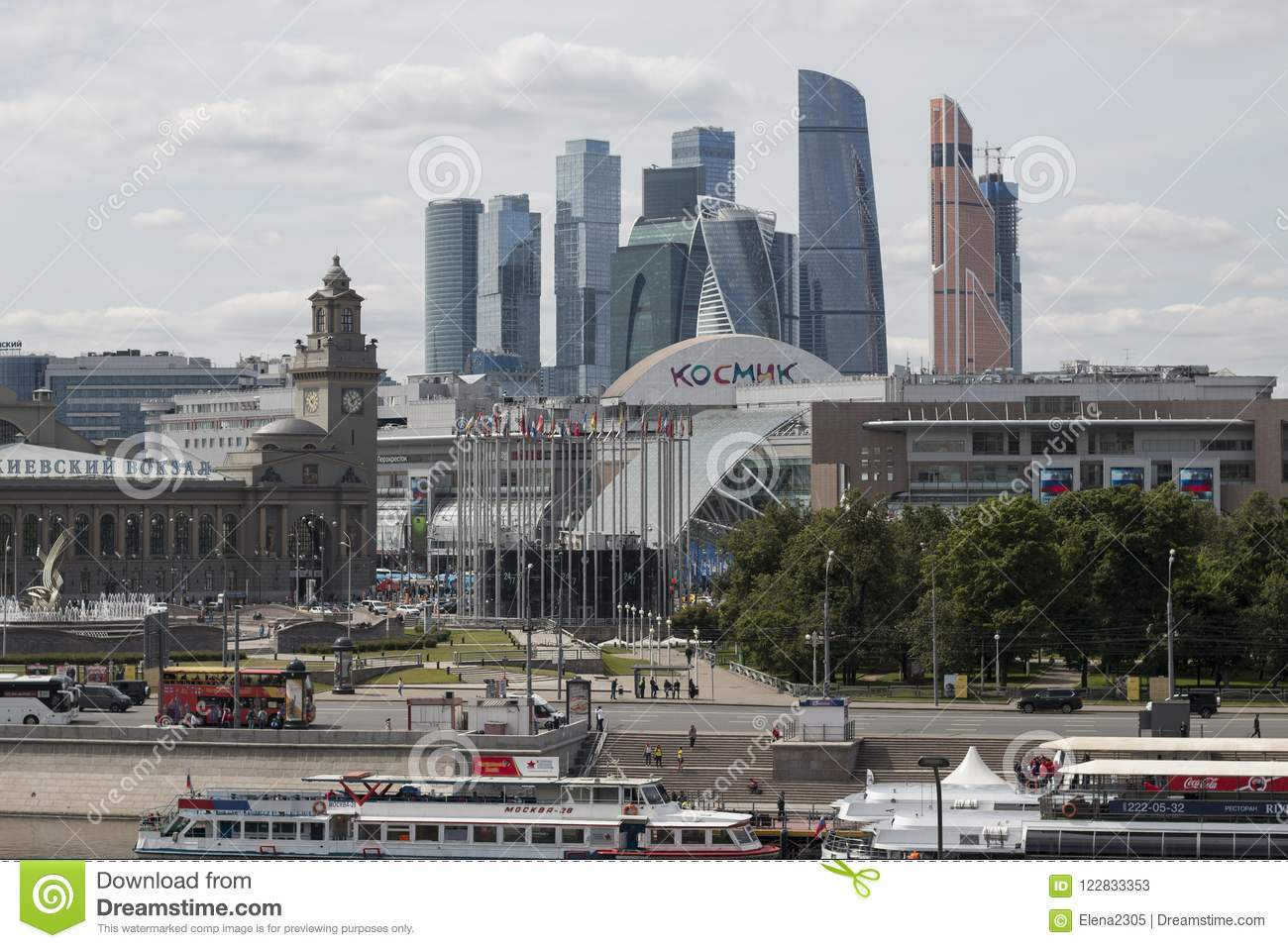 49fd139c4b37 Skyscrapers Of The International Business Center Moscow City ...