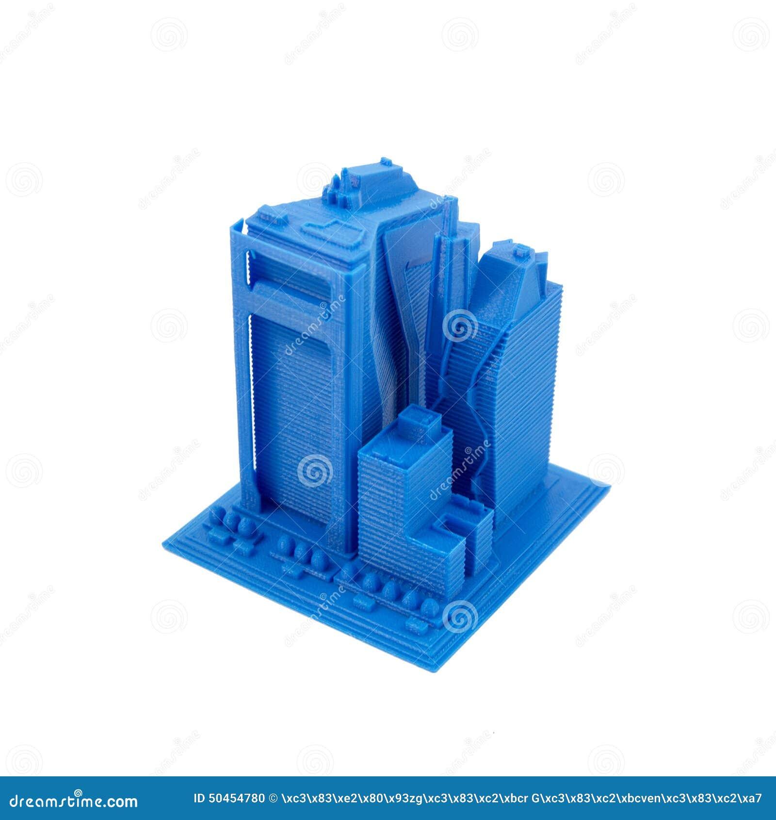 Of Skyscrapers modelo impresso 3D