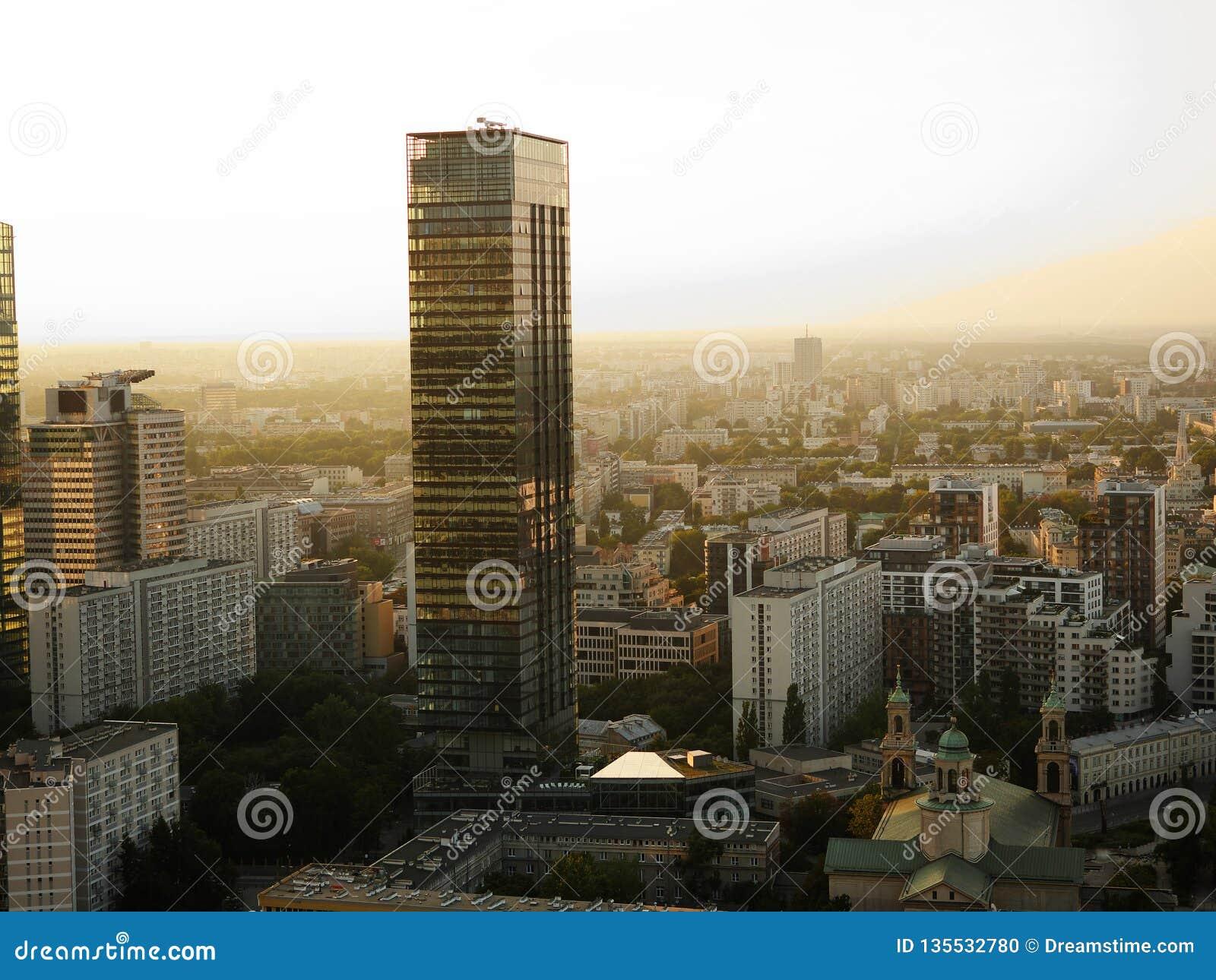 Skyskrapor i Warszawa, Polen